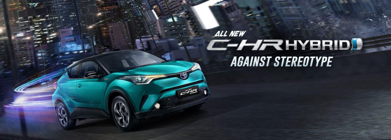 Toyota All New C-HR Dealer Toyota Solo
