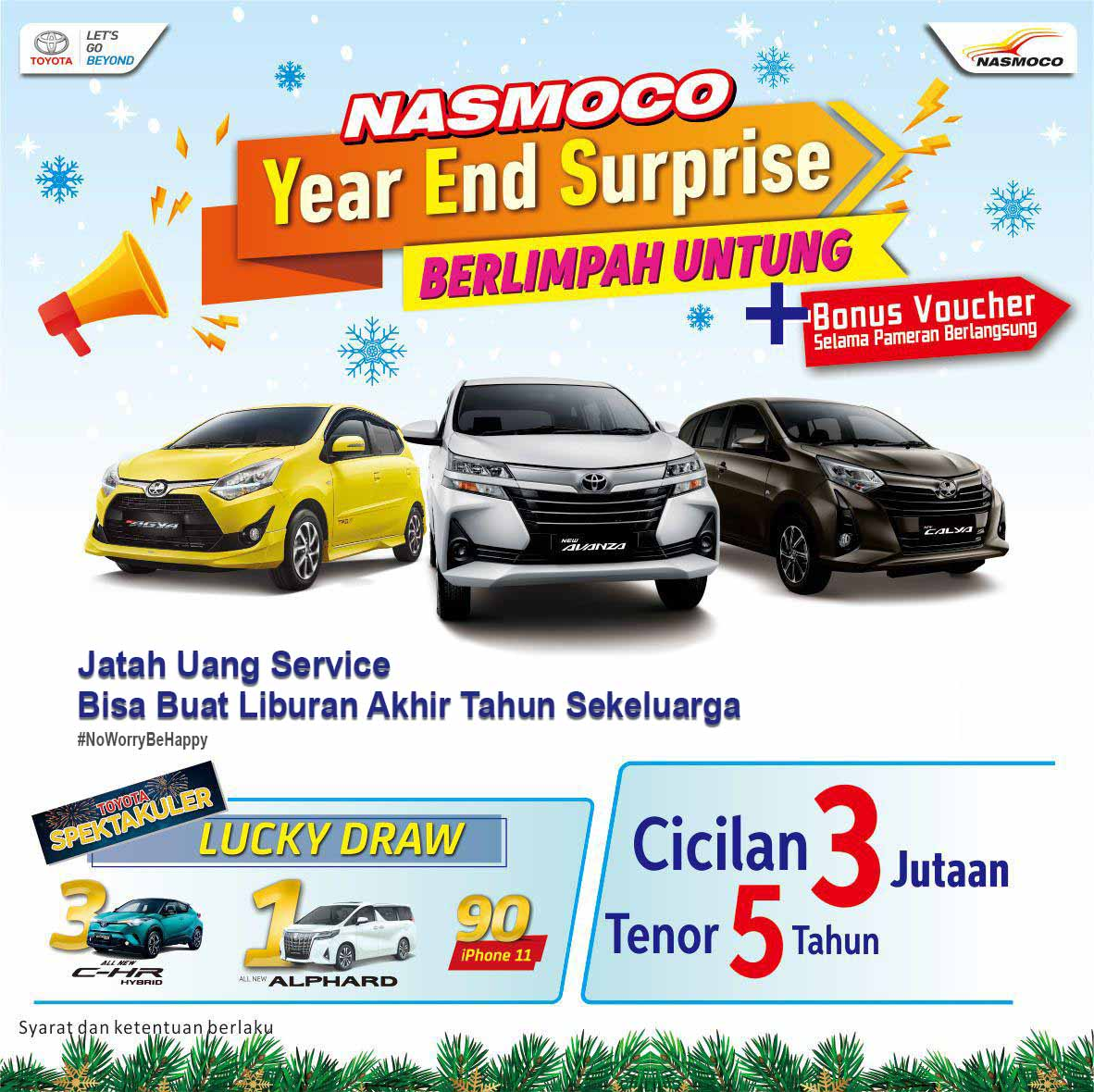 Promo Toyota Year End Surprise Berlimpah Untung Di Dealer Toyota Solo